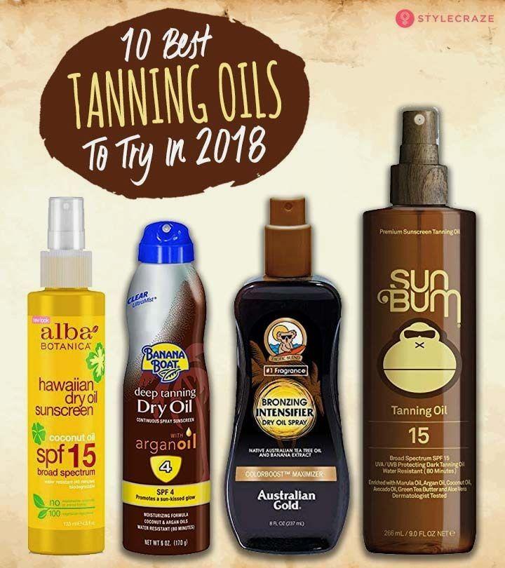 Pin By Lyndie Ervin On Beauty Best Tanning Oil Dry Tanning Oil Tanning Oil