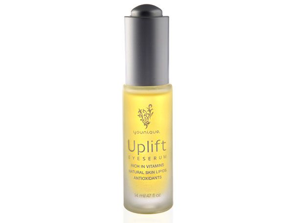 Uplift Eye Serum does it all! Replenishes, moisturizes and reduces the appearance of fine lines and wrinkles.  Its also rich in Vitamins and antioxidants! Truly amazing! Find it at www.StephsBanginLashes.com