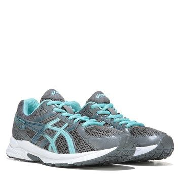 Push the limits in the GEL-Contend 3 Wide Running Shoe from ASICS.Breathable mesh and synthetic upper in an athletic running styleLace up front with padded tongue and collarRemovable socklinerRearfoot GEL cushioning system for enhanced shock absorptionRubber traction outsole