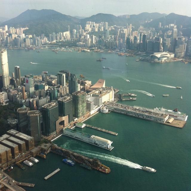 Ozone Bar, Level 118 of Ritz Carlton Hong Kong