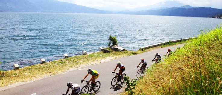 Gowes 1.000 kilometer bersama Tour de Singkarak 2013