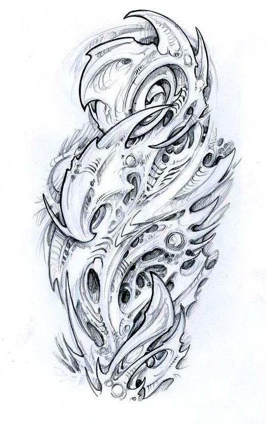 Biomechanical Tattoo Line Drawing : Best images about biomechanical on pinterest sleeve