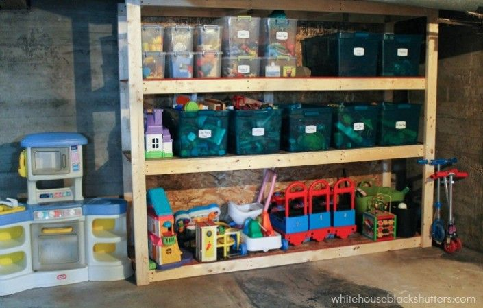 69. Reduce Clutter With DIY Shelving