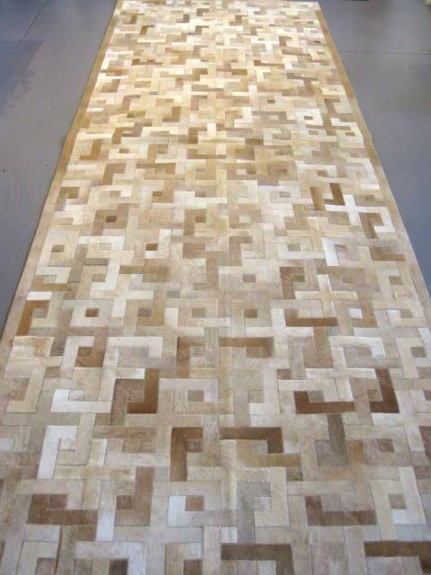 Eternity Pattern Hide Carpet Runner – Diseño Boston