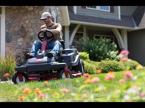 NEW Zero Turn Riding Lawn Mowers From Toro - 2015