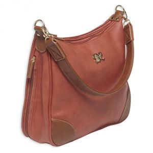 Hobo Style Purse with Holster Included by Bulldog Cases is designed for either left or right handed use with a universal fit color matched holster included that fits most small autos and revolvers.