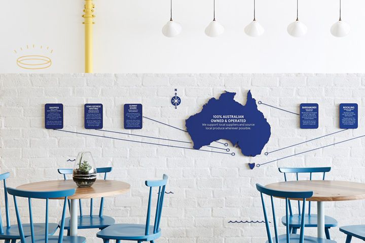 Modern Seafood Restaurants : Fish and Chip Shop