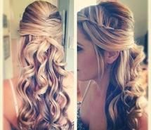Love this hairstyle- used it for prom(: