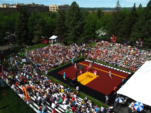 @Nike Center Court Hoopfest, Spokane, WA Courtesy of @Samson Moore KXLY