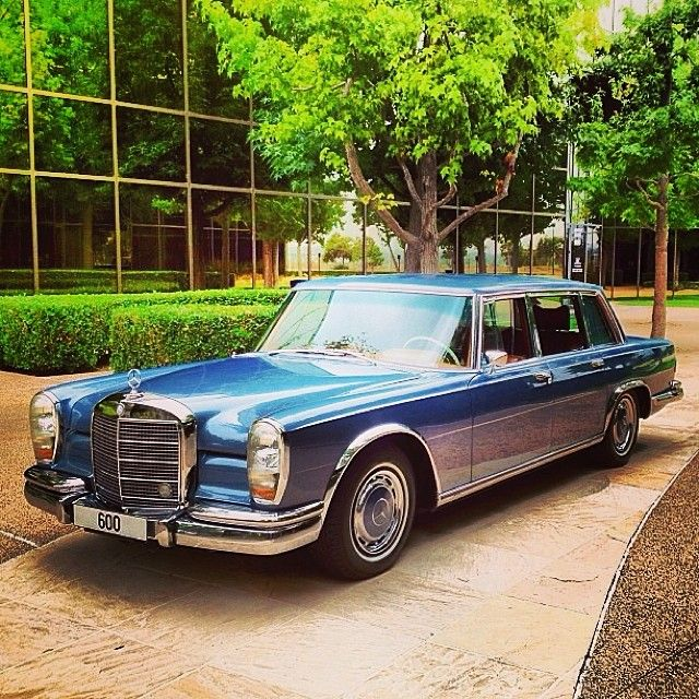 Happy birthday to the regal 600 Series, which turned 50 years old this year. #mercedes #benz #classiccar #instacar cc: @Mercedes-Benz Classic Center