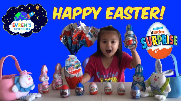 2017 Easter Special GIANT KINDER SURPRISE EGGS Opening Marvel Avengers Disney Cars Frozen Toys Review - Kid Fun Game. Thanks for joining Evren to open more New Giant Jumbo Kinder Maxi Surprise Egg and Huge Bunny Eggs Easter Special Edition, kinder eggs for boys and girls, and other surprise eggs like Marvel Avengers Superhero, Disney Pixar's Car, Disney Frozen filled with a lots of surprise toys and fun for kids.