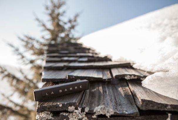 La barre de chocolat imaginée par Pierre Marcolini pour le Chalet Zannier #Megeve #Chocolat #Luxe #Winter #France #Ski #Chocolate #PierreMarcolini