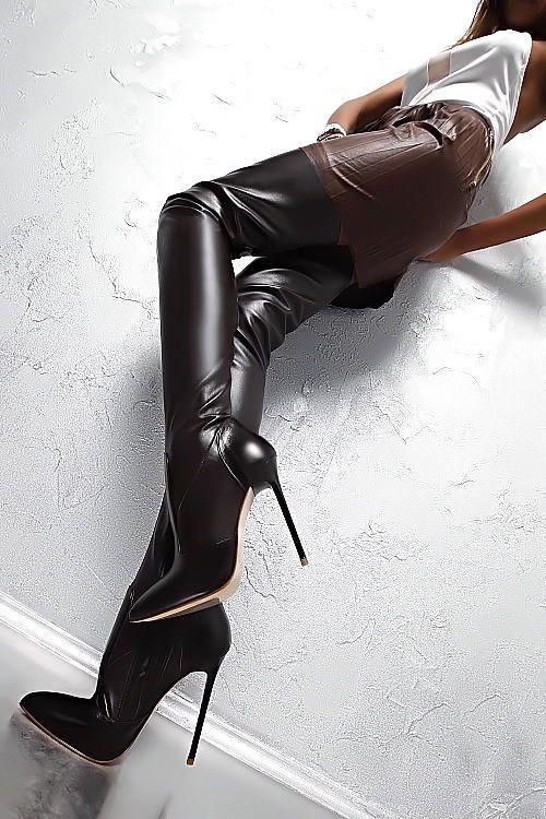 MADE IN ITALY HIGH HEELS STRETCH PK8 OVERKNEE LUXUS BOOTS STIEFEL LEDER BRAUN | Kleidung & Accessoires, Damenschuhe, Stiefel & Stiefeletten | eBay!