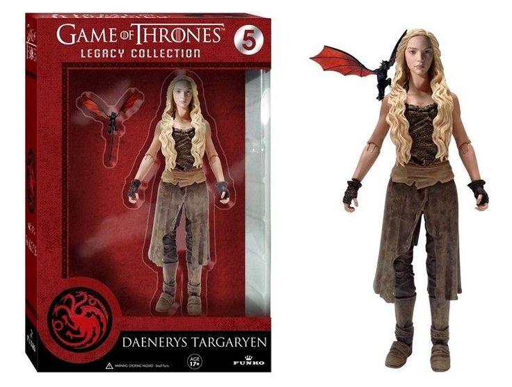 GAME OF THRONES DAENERYS TARGARYEN Legacy Figure GOT Khaleesi Mother of Dragons