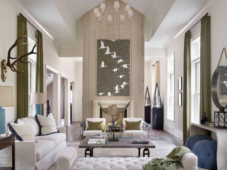Un salon à la décoration contemporaine et originale. #décoration #inspiration #luxe