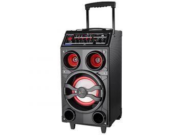 Caixa de Som Lenoxx CA 309 100W Ativa Bluetooth - USB Compatível com MP3 Micro SD e Microfone