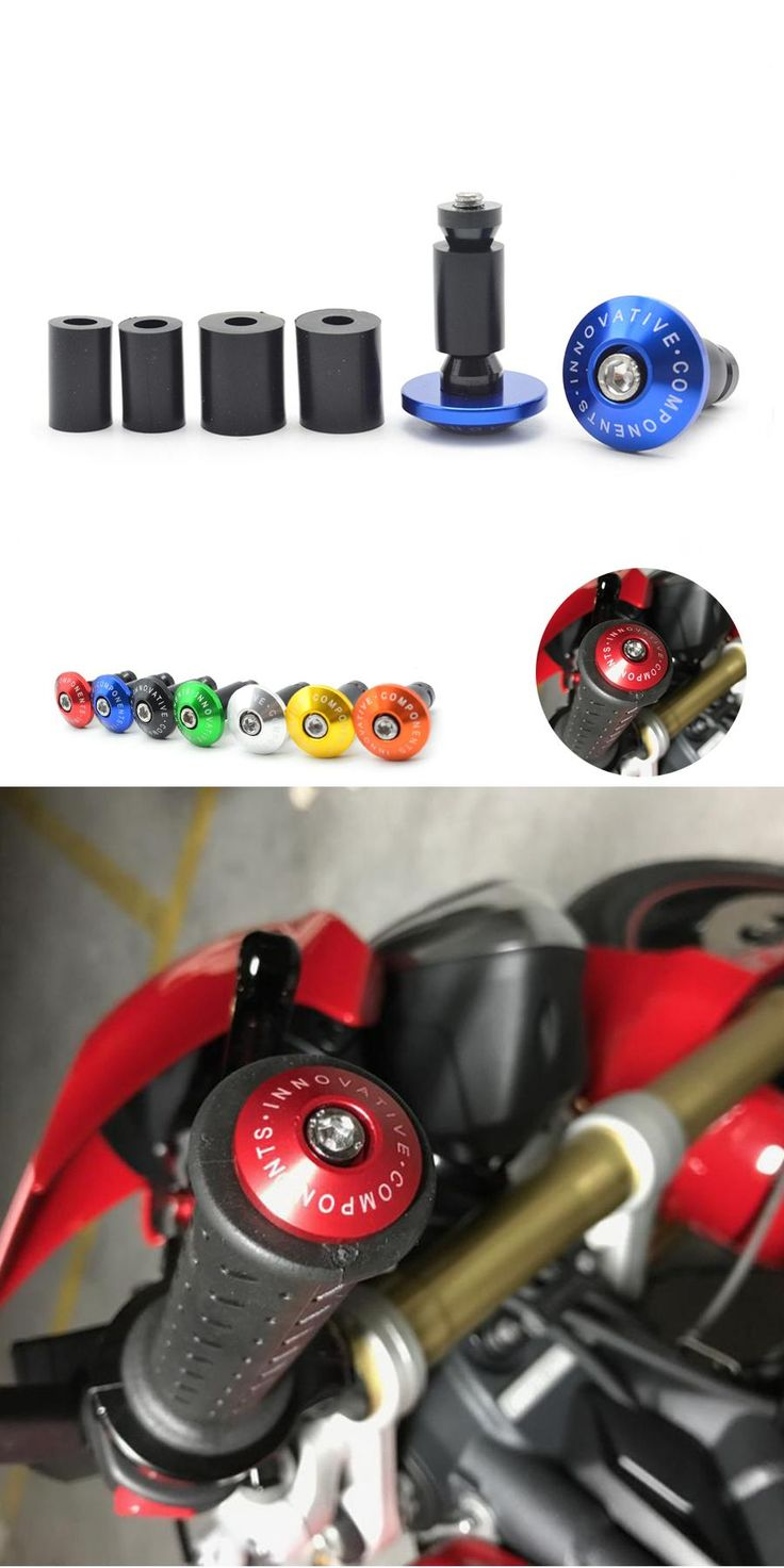 "[Visit to Buy] 22mm  7/8"""" Motorcycle Aluminum Handlebar Grips Bar Ends Sliders For suzuki GSF 1250 Bandit S GSR 600  GSR 750 GSX 650 F z800 r3 #Advertisement"