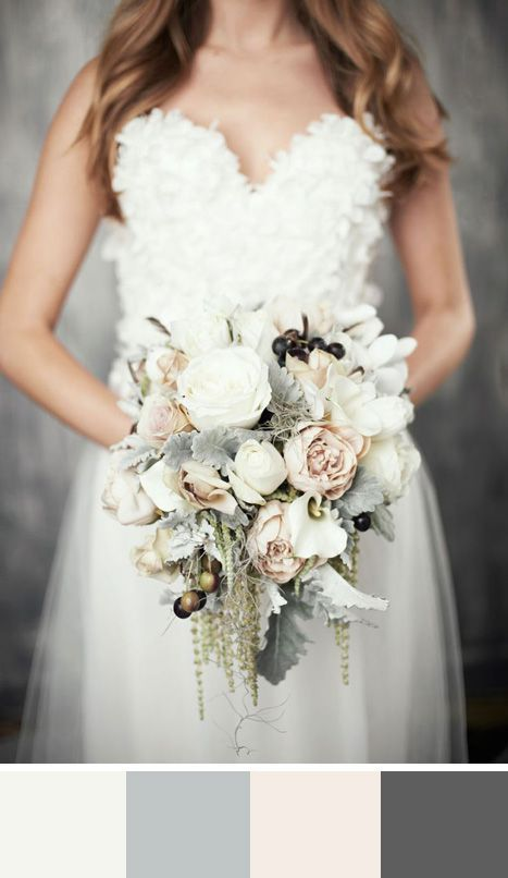 5 Winter White Color Palettes For Your Wedding Day
