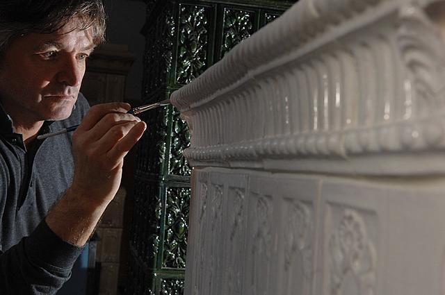 Ricostruzione Stufe Antiche Originali - Antike Kacheloefen - Fiore all