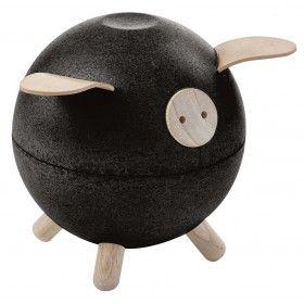 Piggy Bank - Siyah