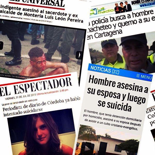 Sí algo dejan claro los medios de comunicación a diario en el país,  es el grave estado de salud  mental de los colombianos. #Rememorando2015 SALUD MENTAL EN COLOMBIA: ¿PROBLEMA DE UNOS O DE TODOS?  La nota completa en está dirección: https://goo.gl/jd6K4q