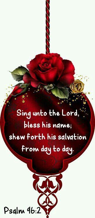 Psalm 96:2 KJV