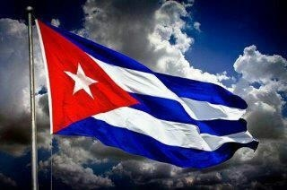 My Cuban flag...... May it be a free flag one day