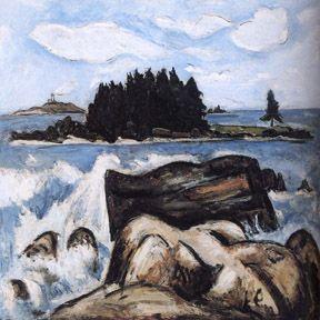 marsden hartley Modernist Art -- Portland Museum of Art in Portland, Maine