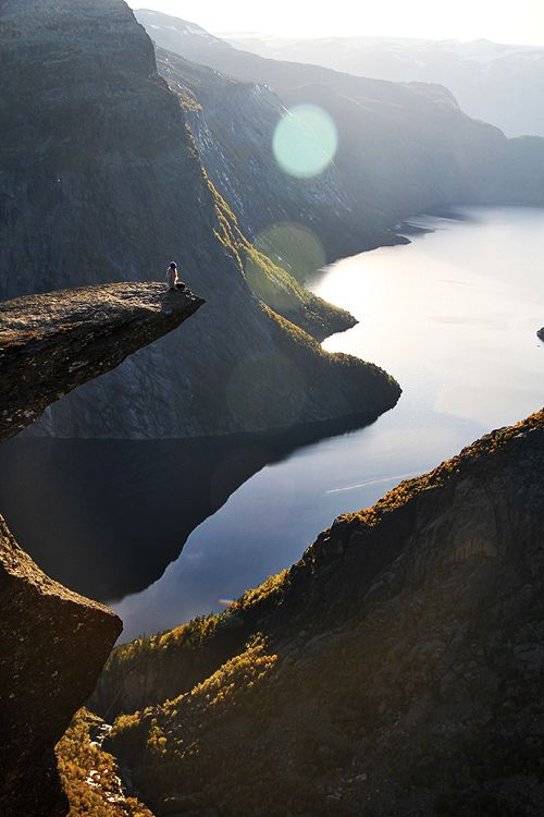 Troll's Tongue, Norway