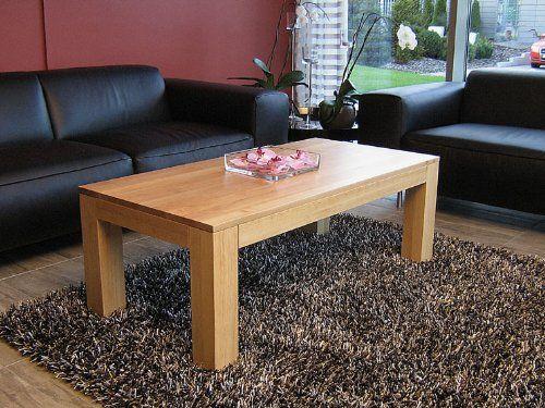 Couchtisch Tisch 90 X 60 Cm Zarge Bndig Mit Ablage Erle Echtholz Massivholz