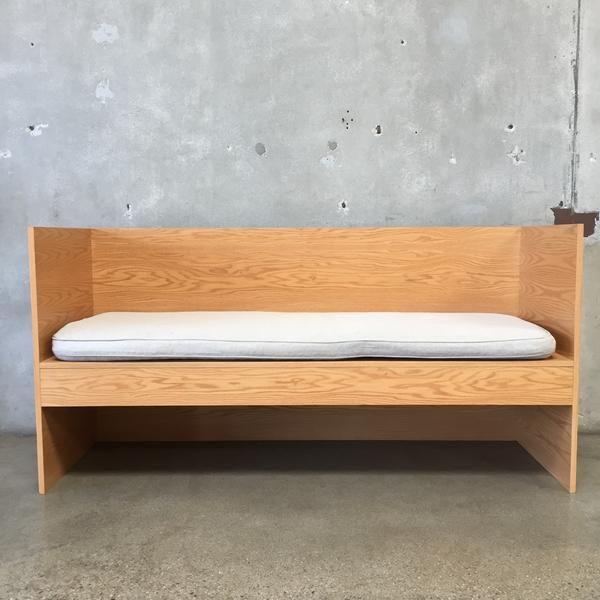 Super Donald Judd Style Plywood Bench 35 1 4 X 71 X 23 3 4 In Uwap Interior Chair Design Uwaporg