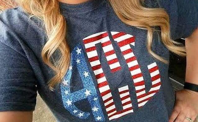Cute shirt for the 4th of July !
