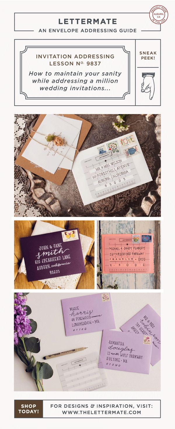 Lettermate Was Designed To Create Beautifully Addressed Envelopes For The  Important Events In Your Life. Handwritten Wedding InvitationsAddressing ...