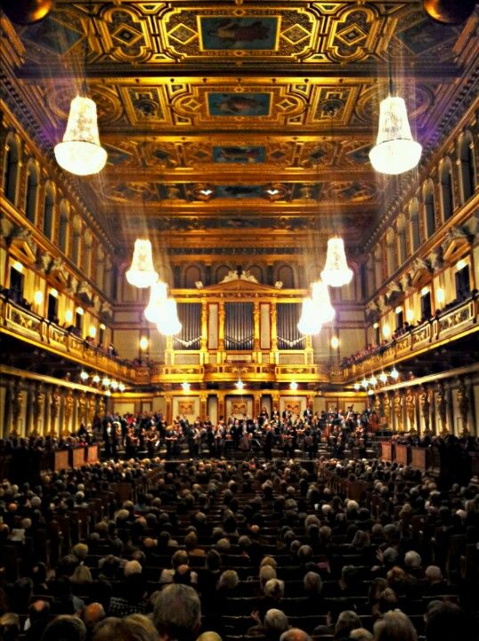 This concert hall is considered one of the best classical music venues in the world.