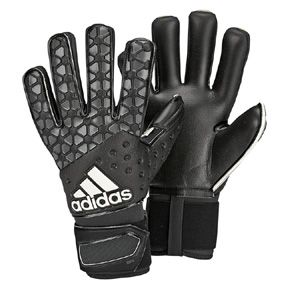 adidas  ACE Pro Classic Soccer Goalkeeper Glove (Black/Gray)