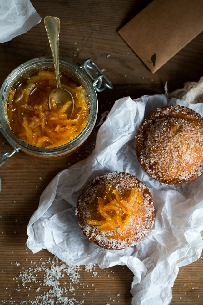 Pączkowe muffinki z konfiturą