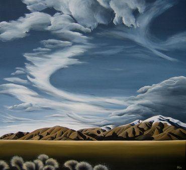 Southern Front. Diana Adams, NZ Artist.