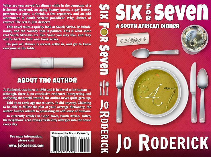 What are you served for dinner while in the company of a lecherous reverend, an aging beauty queen, a gay lottery presenter, a guru, a shrink, a few reporters, and an odd assortment of South African parodies? Why, dinner of course! The rest is just dessert! This novel takes a quirky look at South Africa, its inhabitants, and the comedy that is politics. This is what some real South Africans are like. Do join us! Dinner is served, settle in, and get to know everyone at the table.