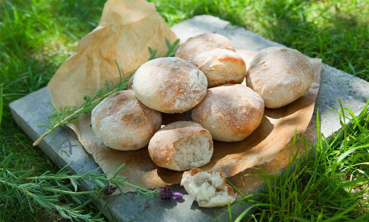 Recept på frasiga franska frallor