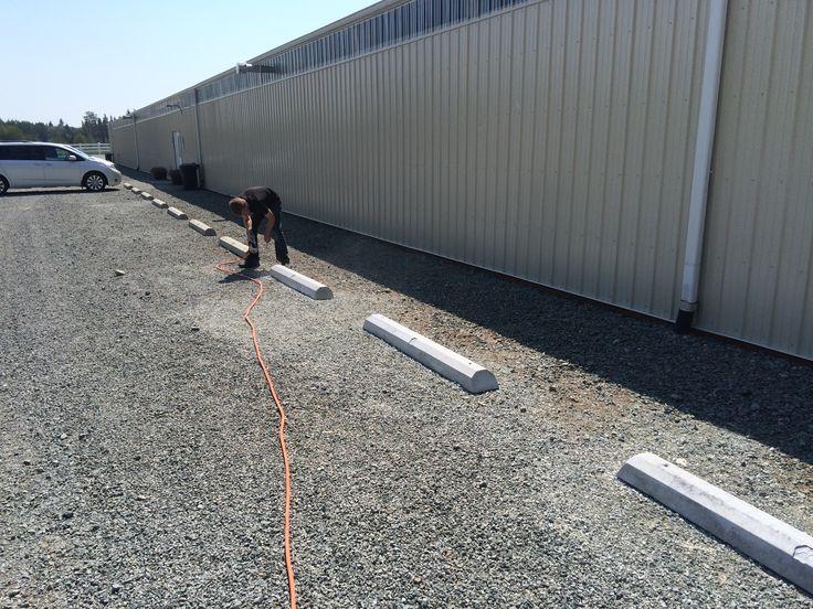 Precast Concrete Wheel Stop Standards : Best precast concrete parking curbs wheel