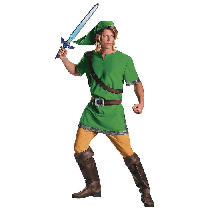 Men's Classic Legend of Zelda Link Costume. Teen Halloween ... - 42 Best Classic Halloween Images On Pinterest Children Costumes