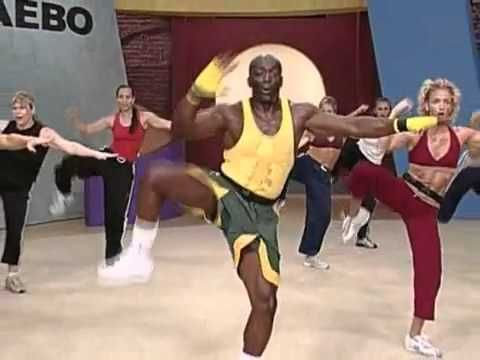 Billy Blanks cardio workout; video by Mirza Nadeem and called Exercise Fitness