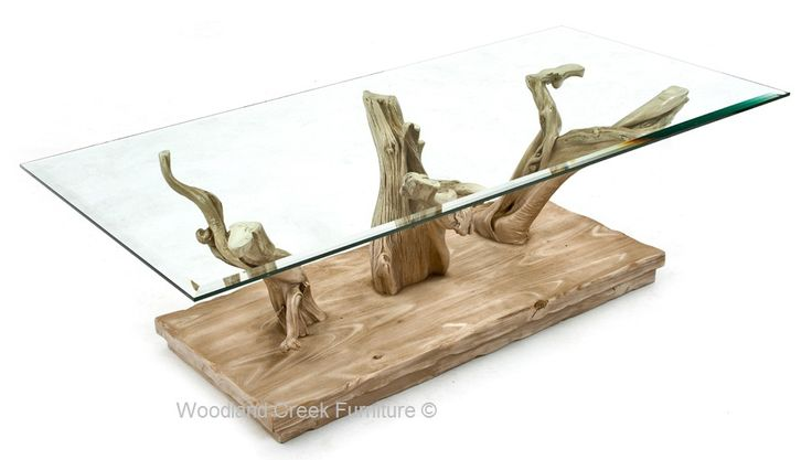 Cottage Driftwood Coffee Table, Coastal Coffee Table, Rustic
