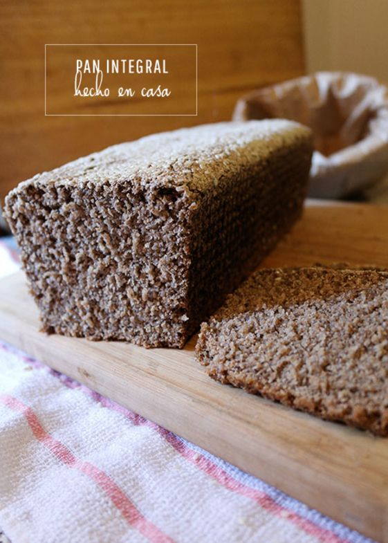 Pan integral en 3 pasos | Laralá - Un sitio, mil ideas
