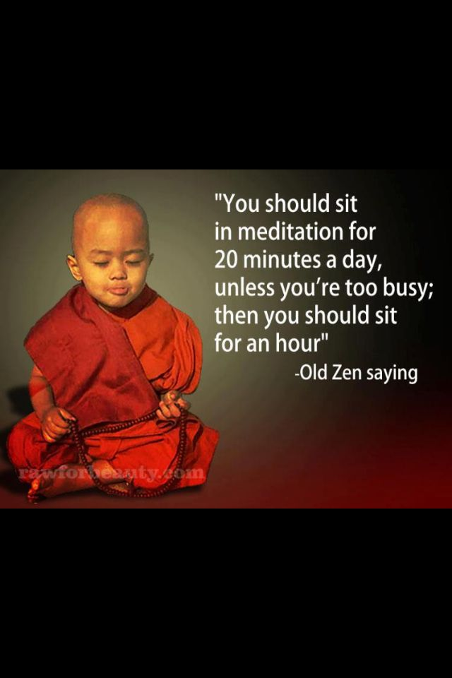 The busier and more stressed you are, the more you need to take a break and check in. Exactly when you feel you don't have the time is when it will benefit you most.  #kombuchaguru #meditation Also check out: http://kombuchaguru.com