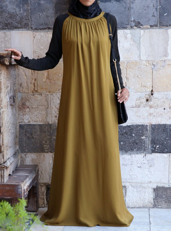 A casual-cool, easy-to-wear #Abaya from Shukronline.com
