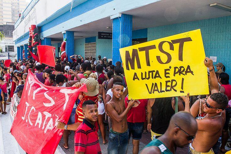 Ato MTST São Gonçalo - 12 - 01 - 2015 (Mídia NINJA)