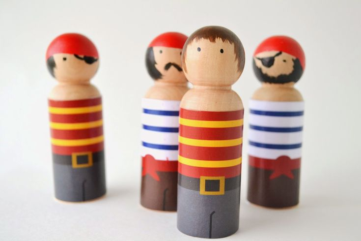 Handmade Peg Baskets : Plenty of paprika peg people pirate clothes free