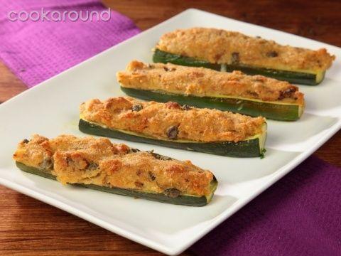 Zucchine gratinate   Cookaround