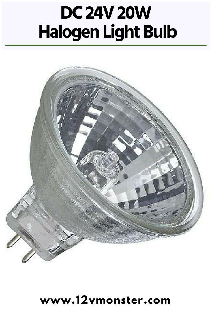 Dc 24v 20w Halogen Light Bulb Mr11 Spot Light Replacement 2 Pin Gu4 Base Bulb Light Bulb Downlights